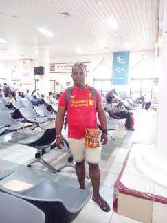 This is a photo i took at Banjul International Airport, Gambia